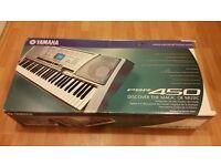 Yamaha Portable Keyboard PSR-450 With Professional Stand