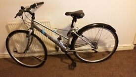 As new appollo Excelle hybrid girls bike