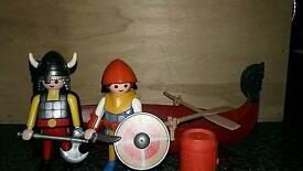 Playmobil vikings boat