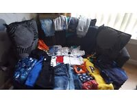 Bundle of boys clothes age 8-10
