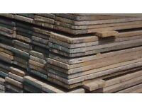 Heavy duty wood scaffolding boards