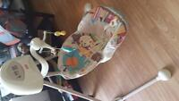 clean Fisher price swing located east