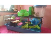Hamster Heaven Cage plus many extras