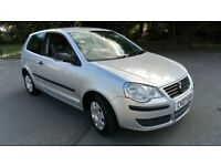 VW Polo 1.2 E 2007 GENUINE 76000 MILES FULL SERVICE HISTORY NEW MOT AND SERVICED ANY TRIAL HPI CLEAR