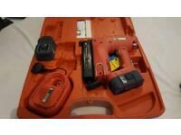 Battery power nailer or stapler, used once.