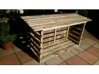 log storages an mud kitchens,wishing wells ect