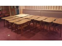 Job Lot 163 Chairs and 93 tables (Pub Chairs and Tables good condition)