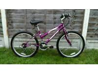 "Girls firefox 24"" wheel mountain bike"