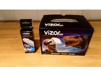 Virtual reality headset and gaming controller