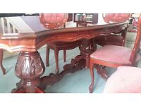 Italian style twin table and chairs