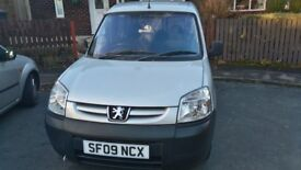 Peugeot Partner Wheel Chair Access with Electric winch, very low mileage 25k.