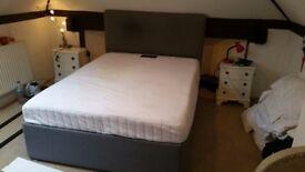 King Size Divan Bed and Salus mattress