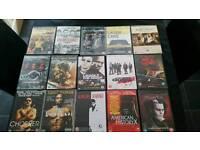 15 dvds