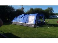Hi Gear Voyager 6 tent with Porch, Footprint and Carpet