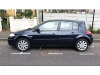 RENAULT MEGANE, 1.6, PETROL, 2008, AUTOMATIC, NAVY BLUE