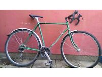 Well loved Raleigh with many new parts