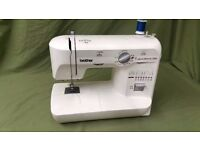 BROTHER XL5500 FREE ARM SEWING MACHINE - Excellent condition - Fully serviced. Stitches perfectly