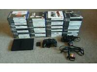 Sony Playstation 2 PS2 Console and 73 games