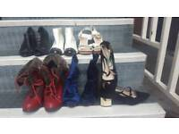 Size 4 lady's shoes and boots