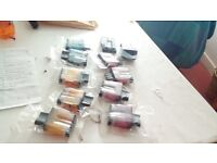 Ink cartridges (new) various for brother DCP115c/dcp120c/dcp315cn printers..