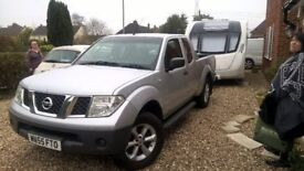 Nisan Navara king cab second edition with Air con, towbar and all in good working order, long MOT