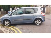 1.6 scenic petrol manual 2006 year 61000 miles history mot 22/5/17 aa cover 12 months hpi clear