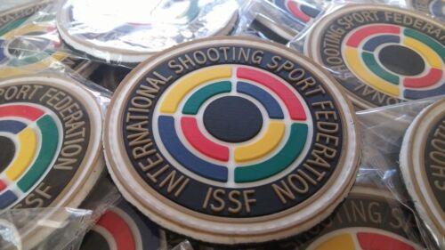 IPSC - ISSF- INTERNATIONAL SHOOTING SPORT FEDERATION  3D PVC patch
