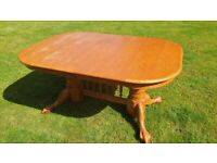 Oak Dining Set - Extendable Table - 6 Chairs - GORGEOUS - BARGAIN - FREE DELIVERY