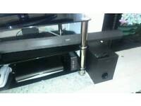 Sony soundbar, bluetooth 60watts, with soundbar and remote