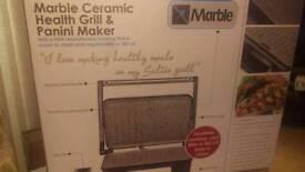 Ceramic health grill and panini maker