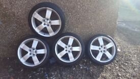 FORD 18 in ALLOYS 215/40/18