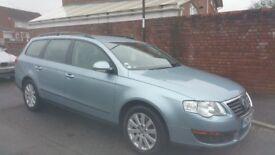 VW PASSAT 1.9TDI 2008 BLUE,FULL MOT,IN EXCELLENT CONDITION