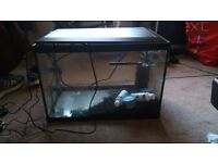 Fish Tank With Heater Lights and Pump