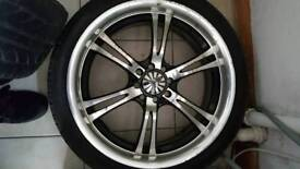 17inch wolfrace alloys