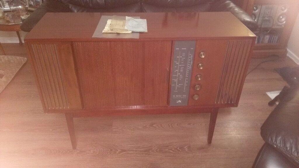 HMV Vintage Radiigram