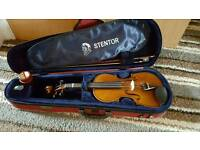 Stentor Violin '1/2 size' including music stand