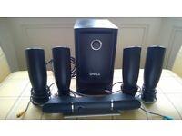 Dell Home Theatre Speaker system PC