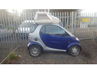 SMART AUTO. LEFT HAND DRIVE. 77000. WITH CRAZY SUNROOF! SEE PICS. NO MOT