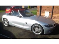 BMW Z4 ROADSTER GREAT CONDITION FSH MOT OCTOBER 2017 LEATHER INTERIOR (SWAP PX P/X PART EXCHANGE)