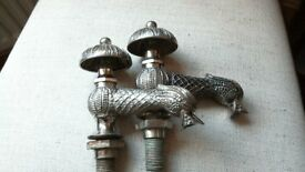 Beautiful Unusual Portuguese Antique Taps