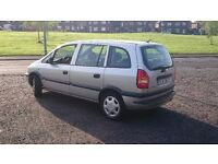 ZAFIRA,7 SEATER WITL LPG, LHD, LEFT HAND DRIVE..... REDUCED