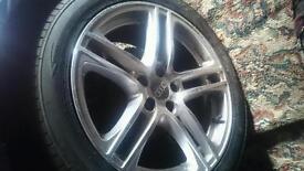 Alloy wheels realy good nick fit v dub