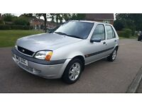 FORD FIESTA 1.3 5 dr MANUAL, VERY LOW MILEAGE,1 PREVIOUS OWNER FROM NEW, 1 YEAR MOT, VERY GOOD DRIVE