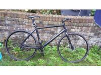 "Cannondale Bad Boy hybrid single speed bicycle 18"""