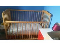 MOTHERCARE & IKEA COT BEDS