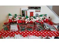 Christmas elfs and bits and bobs x