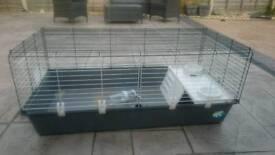 120cm indoor rabbit /Guinea pig hutch