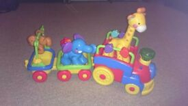 Baby and Toddler Toys Animal Train Fisher Price, and More