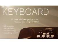 Brand new Sheffield Keyboard 37 keys - Black
