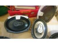 Fli 6x9 375watt speakers